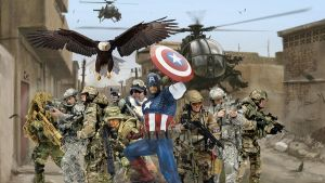 Captain America First to Fight by tat2tiger