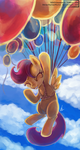 Take to the sky by The-Keyblade-Pony