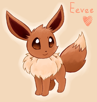 Eevee by Laphyn