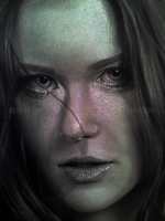 Face Close-up - 14-03-12 by GreyScale36