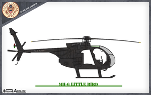 MH-6 Army Helo by Milosh--Andrich
