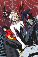 Spider-Women by edCOM02