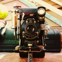 A Steampunk Camera by Poseidonadventurer