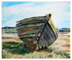 Old Boat by mr-macd