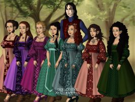Prince Snow White and The Seven Dwarfettes by Kailie2122
