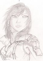 Lightning Sketch by Blancoart89