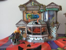 Dept 56 Time to feed the monsters by Sorath-Rising