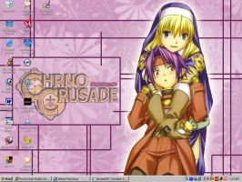 Chrno Crusade Desktop by cocowoushi