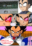 vegeta comic by adminelover