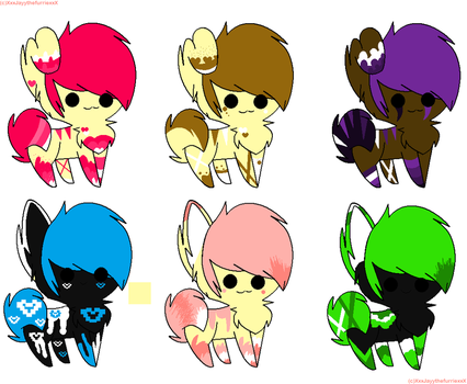 Cat and Dog adopts! :OPEN: by Anchor-----adopts