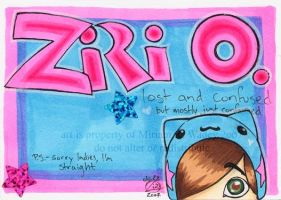 -+-Ziri O's badge-+- by zirio