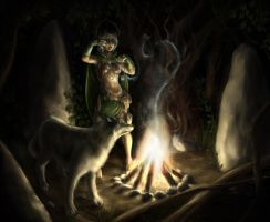 Druidic Enchantment by Mlad
