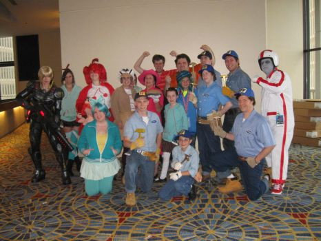 Wreck-It Ralph group- DragonCon 2013 by MaryRyanBogard