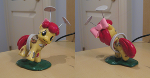 Cutie Pox Apple Bloom Custom by Amandkyo-Su