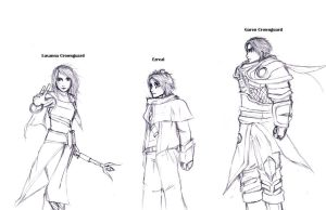 League of Legends BPS Sketches by Seth-Cypher