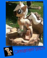 My Little pony Plush Commission CHARRED TIMBER by CINNAMON-STITCH