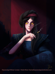 ::Contest:: Lady In Shadows by Unistonen