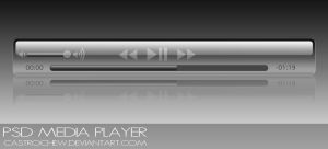 PSD Media Player by castrochew