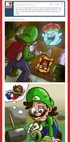Ask Mario: Luigi's Bravery by Nintendo-Nut1