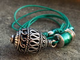 Green Necklace #2 by JEricaM