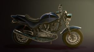 Motorcycle Side by Vrashat