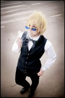 Durarara-the bartender by love-squad