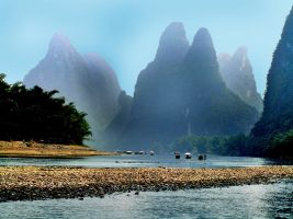 Li River China by CitizenFresh
