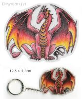 Keychain for ArokhDraco by Dragarta