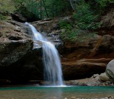 Old Man's Cave Lowerfalls by jmarie1210