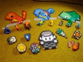 Pokemon crafts by MoritzNina