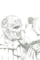 The Abominable Dr. Phibes (pencil) by BrianSoriano