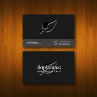 Business Card of Boredom by Sophonax