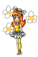 a flower called Daisy by ninpeachlover