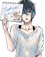 Thank you! by Sukihi