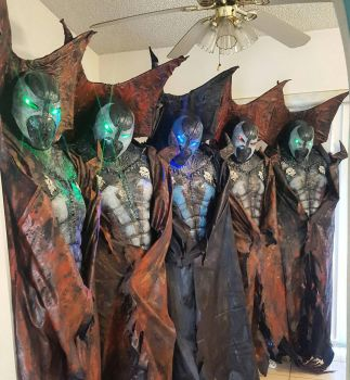 SPAWN COSTUMES! by symbiote-x