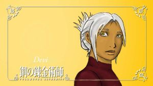 FMA OC- Devi by General-Blue