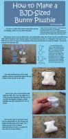 How to Make a BJD-Sized Bunny Plushie by RodianAngel