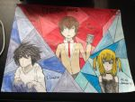 Death Note collage by AnimeSweetieGirl15