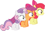 Cutie Mark Crusaders: 'Oooohh!' by thatguy1945