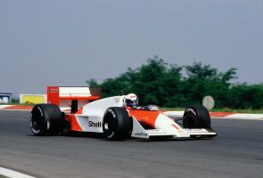 Alain Prost (Hungary 1987) by F1-history
