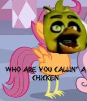 WHO ARE YOU CALLIN' A CHICKEN by ChicaISNOTaDUCKOMG69