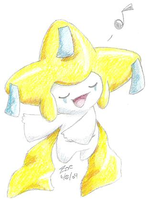 Jirachi Singing by crayon-chewer