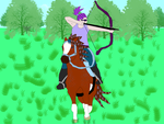 Safir with Listal Mounted Archery by KyraAkir