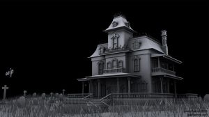 Haunted House (WIP) by TheUninvitedOne