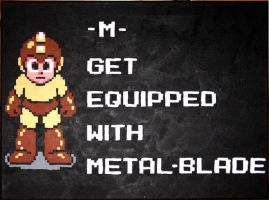 Equip Your Life With Metal Blade by Squarepainter