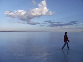 Walking on Water by NyaFairy