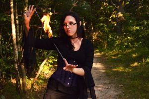 Just me, playing with fire. by xKariSsa