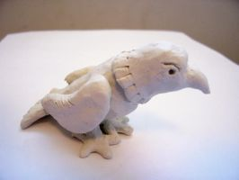 Deidara's Clay Eagle by Nikki-puff