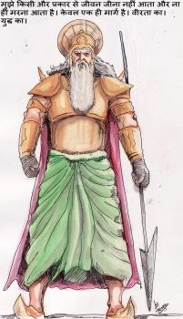 KIng Vahlika by mrinal-rai
