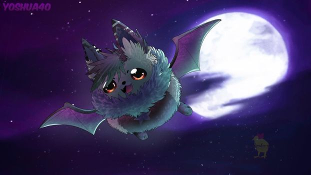 I am the night! [ collab gift ] by Hiyoko-little-chick